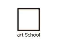 Logo art School. Playdesign