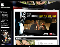 JS Cinema Webiste