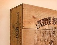 Ride Sweet wine crate