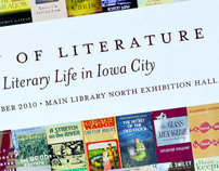 City of Literature Exhibition