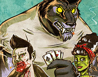 Halloween Hybrid - Rockabilly Monsters