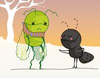 La cicala e la formica e-book