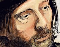 Thom Yorke Illustration