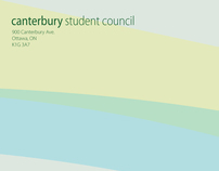 Canterbury Student Council Stationery 2007
