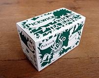 Pickwick Papercut Packaging