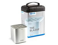 Beacon Audio Blazar Speaker Packaging
