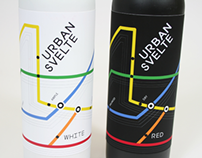 Urban Svelte - Wine Label