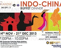Royal Brunei Catering Promotion Artwork