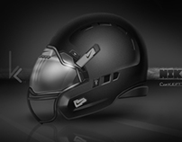 Concept Football Helmet