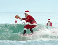 ALDI - SURFIN SANTAS