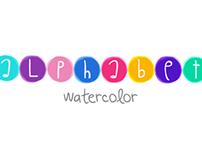 Alphabet Watercolors