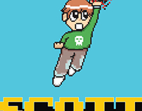 Scott Pilgrim vs. The World (Pixel Art Poster)
