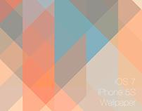 iOS 7 iPhone 5S Wallpaper