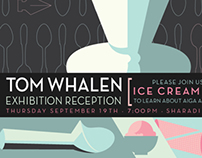 AIGA: Kutztown University Ice Cream Social Poster