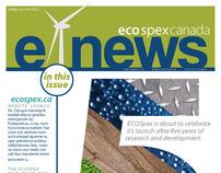 EcoSpex E-Newsletter 2011