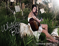 Whitney Blayne CD Artwork / promo