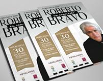 """Gráfica para """"Roberto Bravo en concierto"""""""