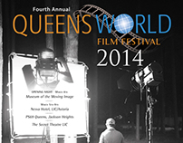 Poster Design / Queens World Film Festival 2014