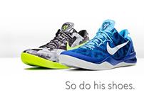 Kobe 8 Shoe Ad