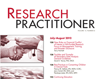 Research Practitioner Cover Design