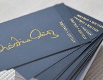 Branding Artist Christine März - Business Card