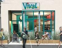 La supérette Vival - Commerces Nantais et Accessibilité