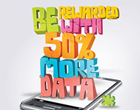 Print - U Mobile: More Data