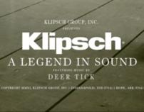 Klipsch Brand Video