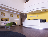 Office Interior Design For Renault