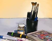 Art Tools: Digital Painting
