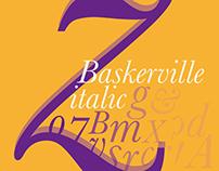 baskerville typeface