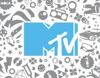 Diseño gráfico para MTV Networks