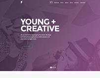 Sensa - One Page Responsive Template
