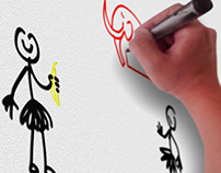 Explainer Whiteboard animation.