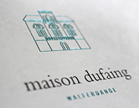 Maison Dufaing corporate book