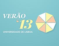 Verão na Universidade de Lisboa
