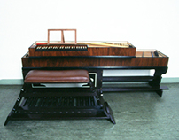 clavichord / pedalclavichord 18th century