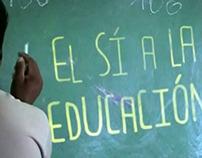 El sí a la educación - Entreculturas