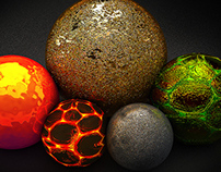 FREE CINEMA 4D MATERIAL PACK V2