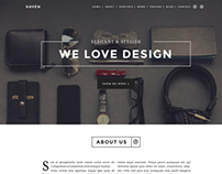 Elegant & Stylish OnePage Theme
