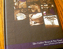 The Coffee Bean & Tea Leaf 2011 Giving Journal