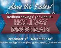 Dedham Savings - Holiday Program