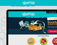 Wash my Car Website