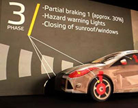 Euro NCAP / Video mapping installation