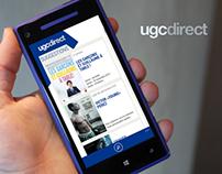 UGC Direct pour Windows Phone 8