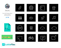 Free Download 54 Animated Icons