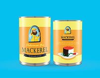 Canned fish Label