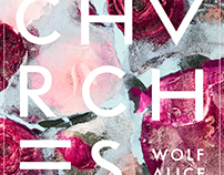 CHVRCHES • Gig Poster