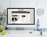 CURIERUL DE BANESTI - WEB Design 2010