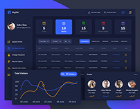 Hair stylist dashboard